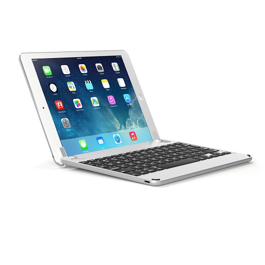 Brydge Keyboard For 9.7 inch iPad Silver