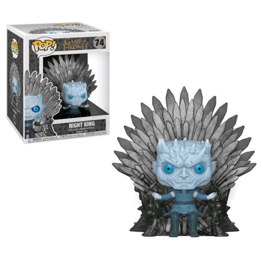 Funko Pop! Deluxe: Game Of Thrones S10 - Night King Sitting on Iron Throne