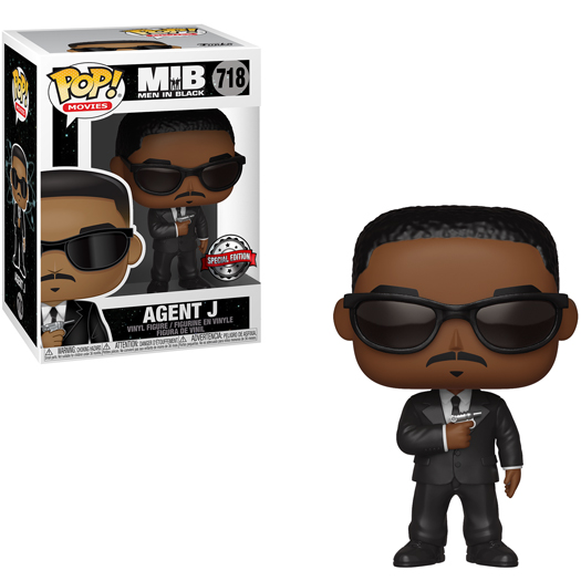 Funko Pop! Movies Men In Black - Agent J (Special Edition)