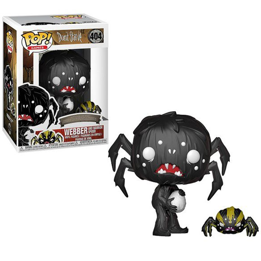 Funko Pop! Games Don't Starve - Webber And Spider