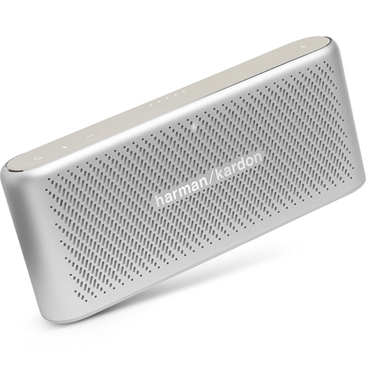 Harman Kardon Traveler Portable Bluetooth Speaker Silver
