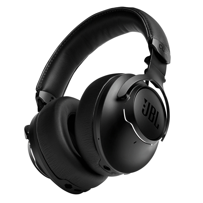 JBL CLUB ONE Wireless Over-Ear Noise Cancelling Headphones Black