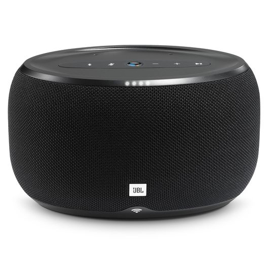 JBL Link 300 Voice-Activated Portable Speaker Black