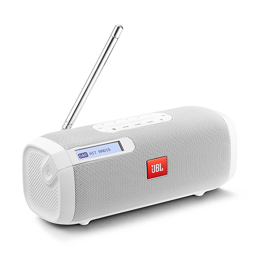 JBL Tuner Portable Bluetooth Speaker With DAB/FM Radio White Demo