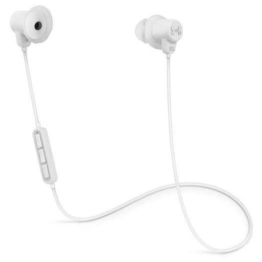 248ae3623a8 JBL Under Armour Sport Wireless Earphones White - Macnificent Online ...