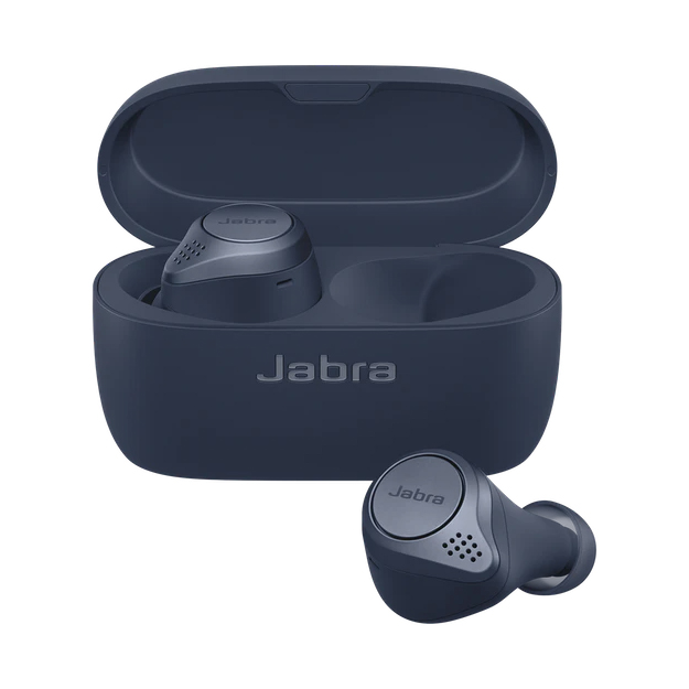 Jabra Elite Active 75t True Wireless Earbuds Navy