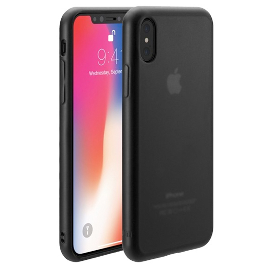 hot sale online 87356 c098a Just Mobile TENC Self-Healing Case For iPhone X/Xs Matte Black