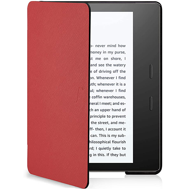 Generic Cover Amazon Kindle Oasis 7 inch Red