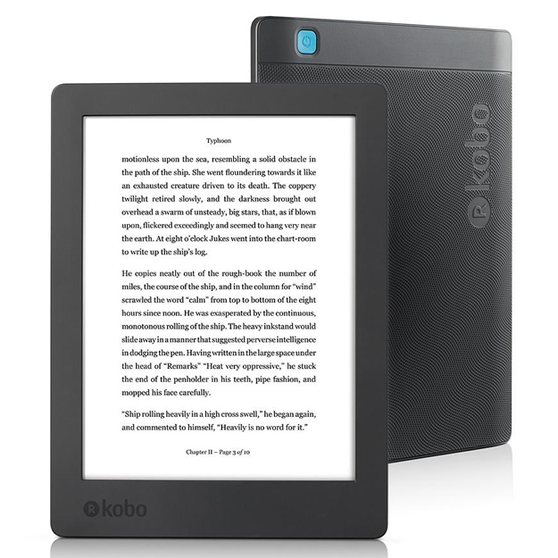 Kobo Aura H20 2nd Edition Waterproof eReader