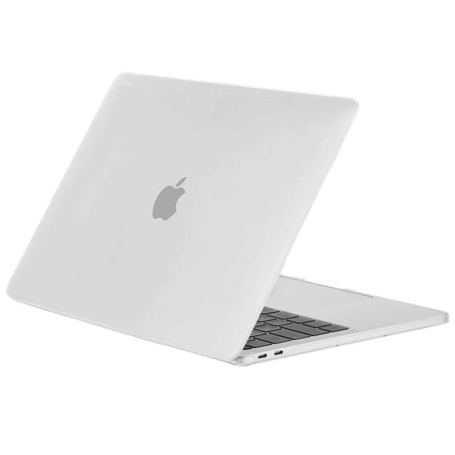 Clear Fits MacBook Pro 13-inch 15-inch with Touch Bar Slim Case Air Cooling