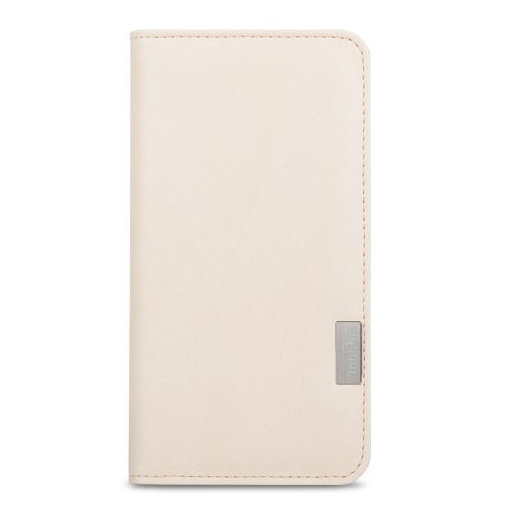 half off 6f759 abeb5 Moshi Overture Wallet Case For iPhone 7/8 PLUS Sahara White