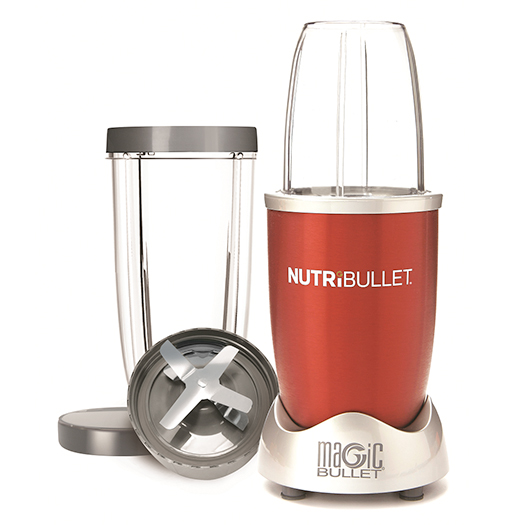 NutriBullet High Speed Blender 8 Piece Red Demo