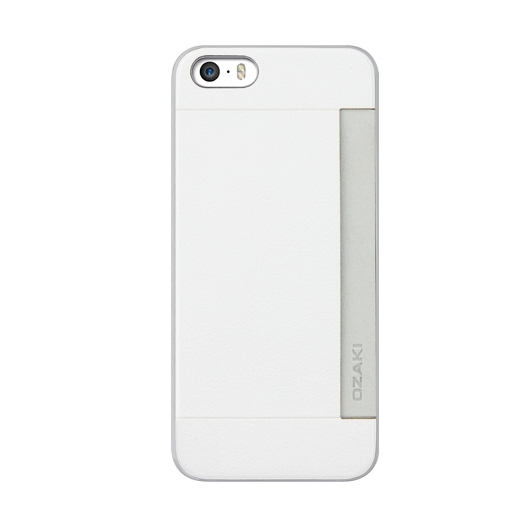 detailed pictures 2061d 41f0d Ozaki O!Coat Slim Pocket Case For iPhone 5/5S White