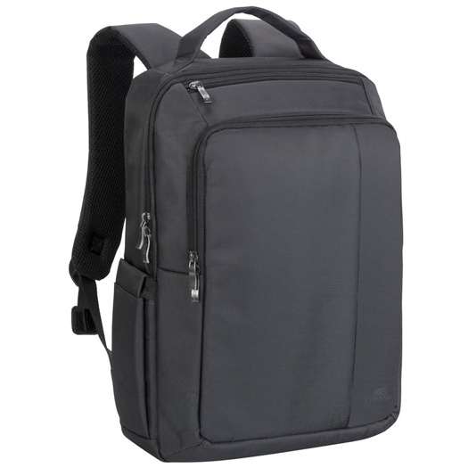Rivacase Laptop Backpack For Laptops Up To 15.6 inch Black