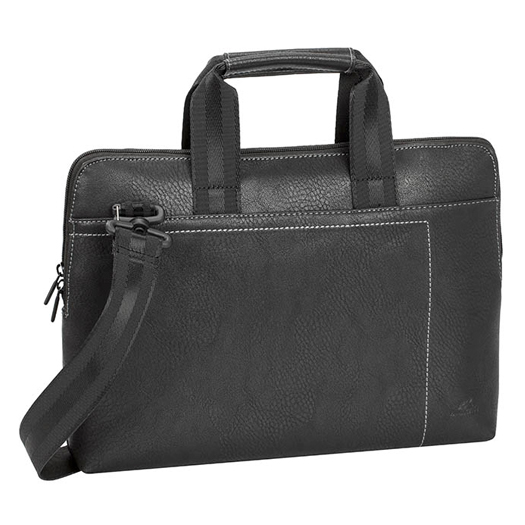 Rivacase Slim Laptop Bag For Laptops Up To 13.3 inch Black