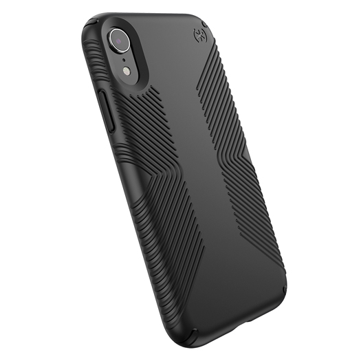 Speck Presidio Grip Case For iPhone XR Black/Black
