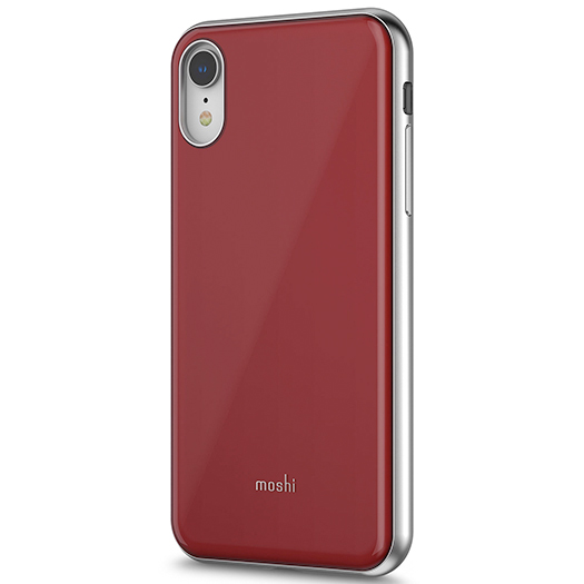 Moshi Iglaze Cover For Iphone Xr Merlot Red Macnificent
