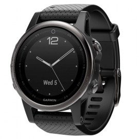 Fenix 5s Black with Black Band