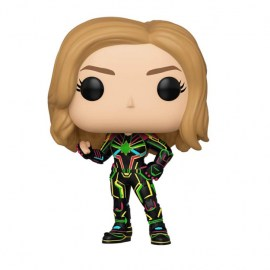 Funko Captain Marvel Neon Suit