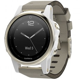 Garmin Fenix 5S Sapphire Goldtone With Grey Suede Band.jpg