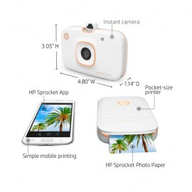 HP Sprocket White 3