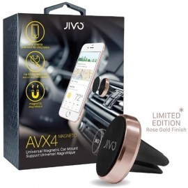 Jivo AVX4 Magnet Universal Air Vent Car Mount Rose Gold_2.jpg