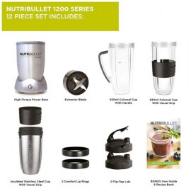 New Nutribullet 1200w 2